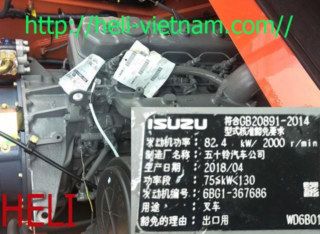 động cơ isuzu 6bg1
