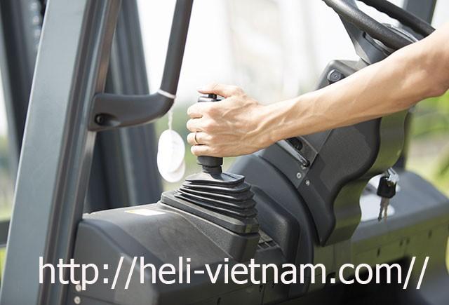Phanh Tay Xe Nâng Heli 5 Tấn