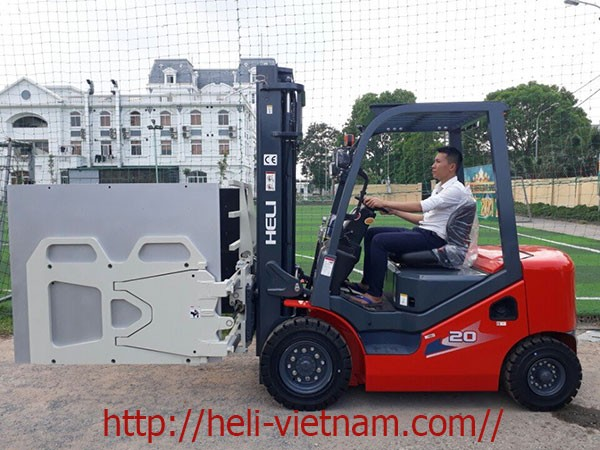 Xe Nang Kep Thung Carton