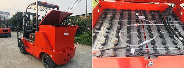 Bình ắc quy xe nâng điện 5 tấn